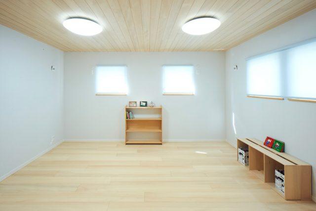 子供室 - もみの木ハウス - 施工事例