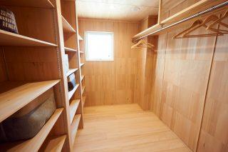 ウォークインクローゼット - もみの木ハウス - 施工事例
