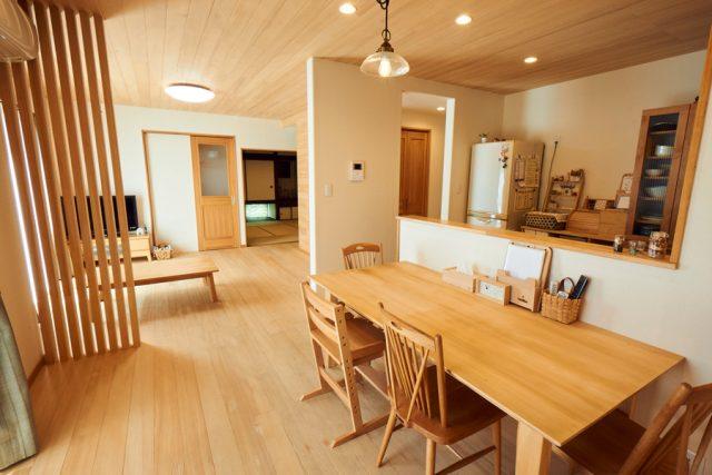 リビング - もみの木ハウス - 施工事例