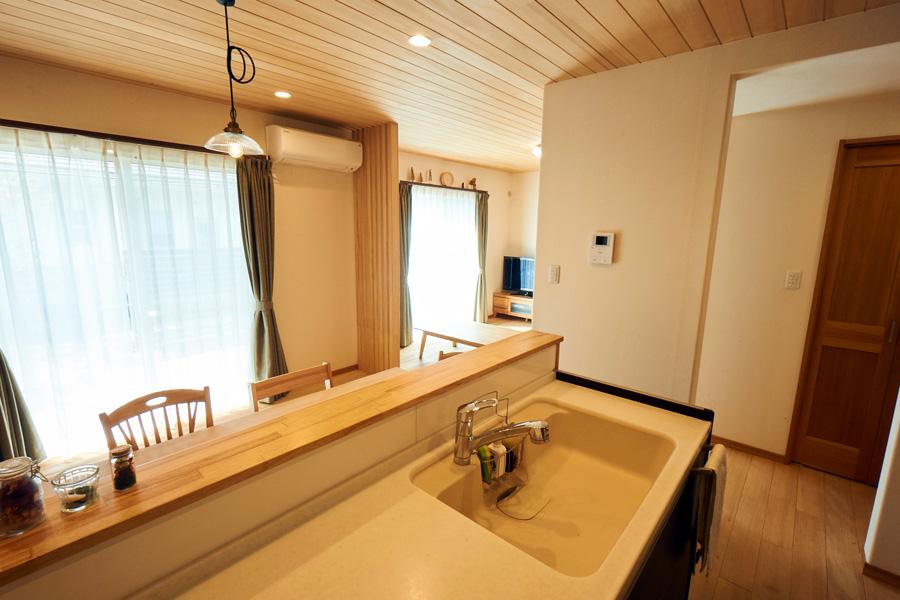 キッチン - もみの木ハウス - 施工事例