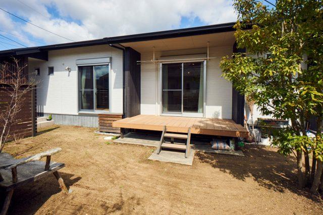ウッドデッキ - もみの木ハウス - 施工事例